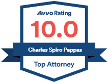Logo Recognizing Mahaney & Pappas, LLP's affiliation with AVVO